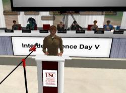 Conferencing via Second Life